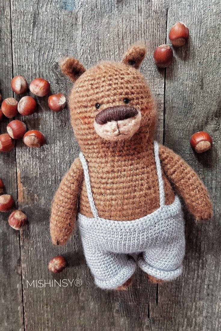 Bear Patrick #crochetbearpatterns