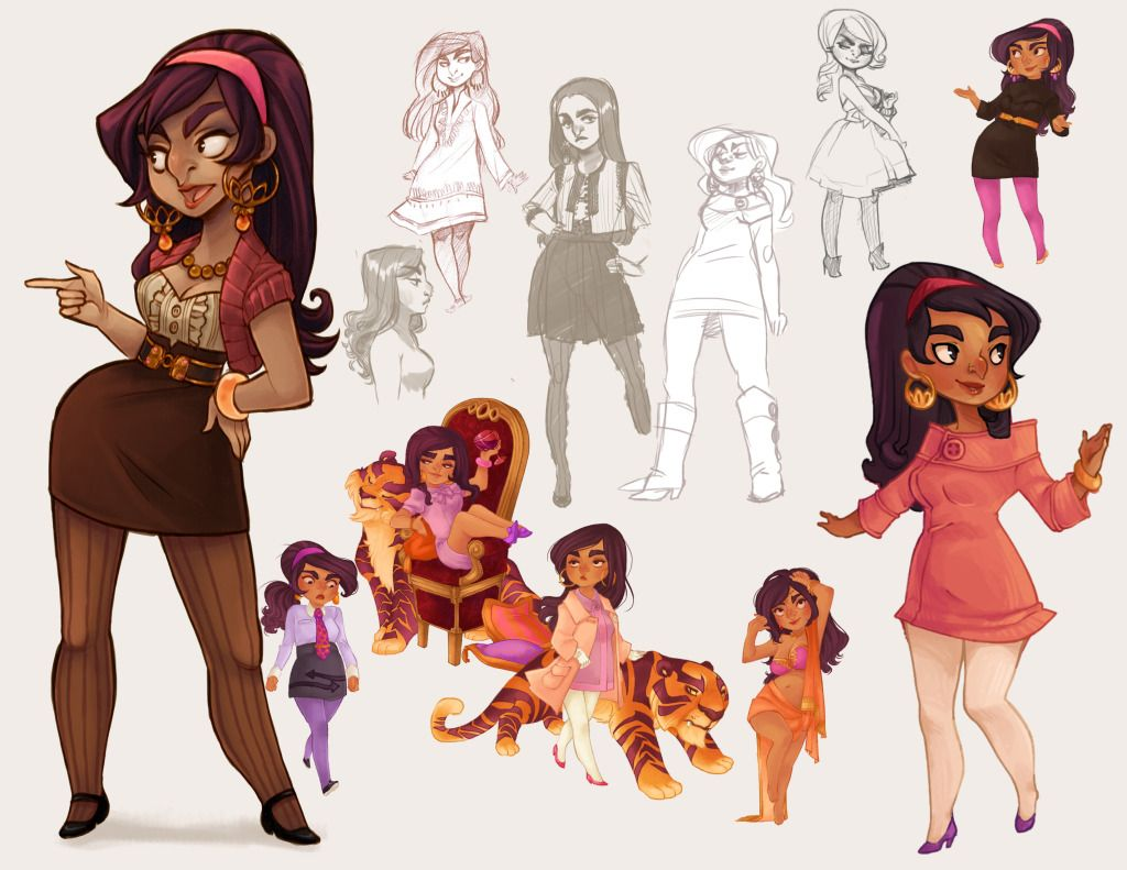 Animation Character Design Portfolio : Character design visdev portfolio character design