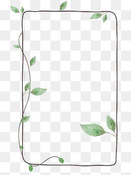 Frame Clipart Photo Frame Vines Green Leaf Botany Frame Leaf Photo Green Photo Clipart Frame Clipart Free Clip Art Clip Art