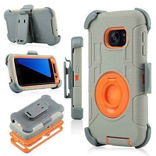 new product 97794 9ba0d S7 Edge Case, Galaxy S7 Edge Holster Case, BENTOBEN Hybrid Dual ...