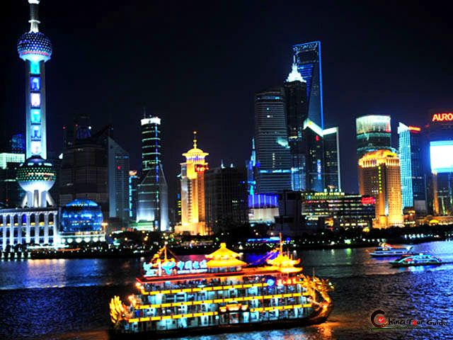 Huangpu River Cruise The River Cruise Is A Traditional Tourist