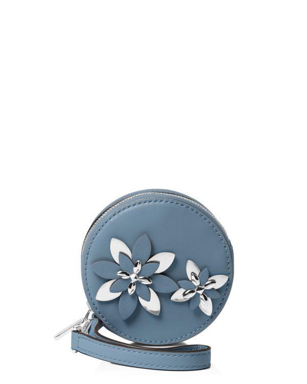 Michael Michael Kors Flower Pouch Small Coin Case