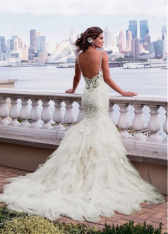 Sexy backless Wedding Dresses! | Wedding Crap | Pinterest ...