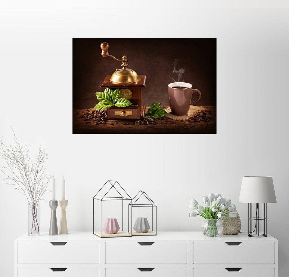 Posterlounge Wandbild Elena Schweitzer Kaffeemuhle Online Kaufen Dekoration Bilder Dekoration Und Wandbilder