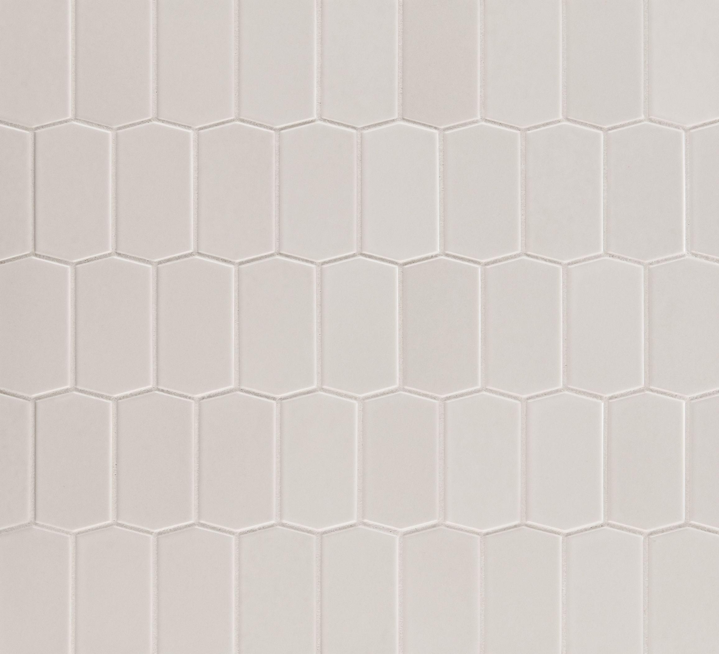 Ann Sacks Mosaic Bathroom Tile: ANN SACKS Savoy Hive Ceramic Mosaic In Chalk