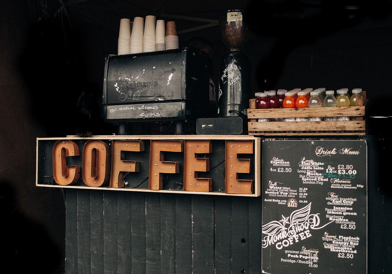 Free Image On Pixabay Bar Box Business Commerce Starting A Coffee Shop Coffee Shop Coffee Signage