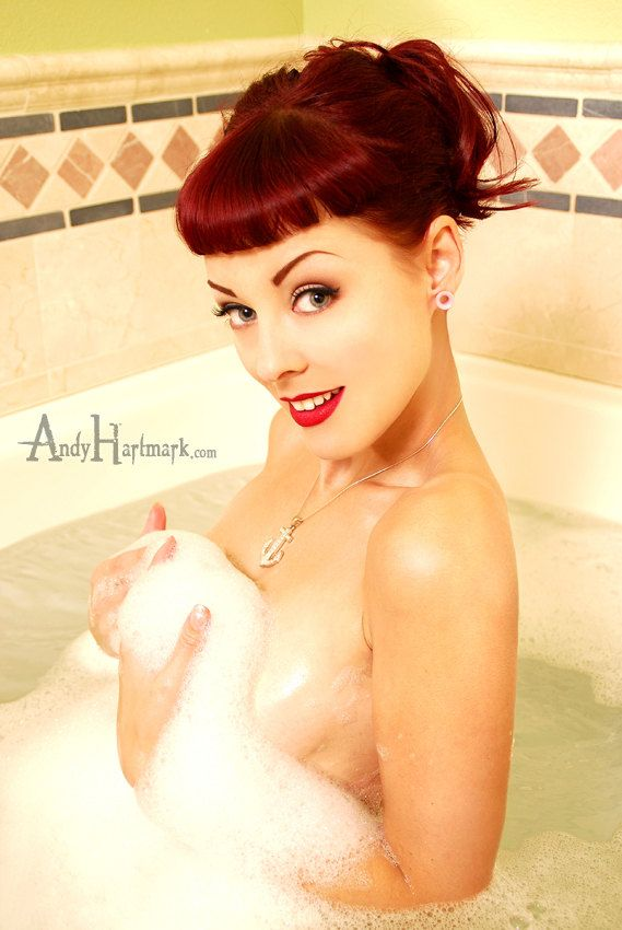 Rockabilly Pin Up Model Dayna DeLux Photo Print by Andy Hartmark