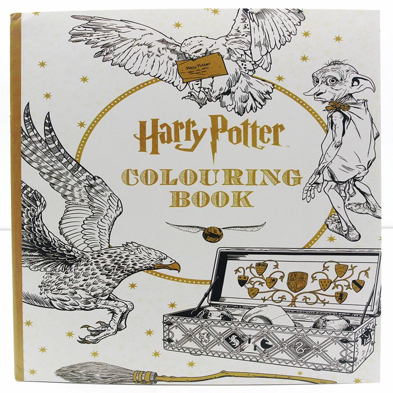 Harry Potter Colouring Book 24 Pages