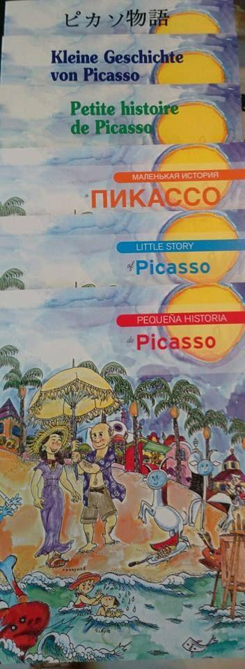 """La #LibreríaMPM recomienda este #findesemana la """"Pequeña historia de Picasso"""" de Editorial Mediterrània, dirigida a niños y niñas, que ofrece de forma amena y rigurosa un recorrido por la vida y la trayectoria artística de Pablo Picasso. Con ilustraciones a todo color de Pilarín Bayès.  Disponible en castellano, inglés, francés, italiano, ruso y japonés.  ¡Visita la #LibreríaMPM en nuestra web! > http://museopicassomalaga.org/libreria.cfm"""