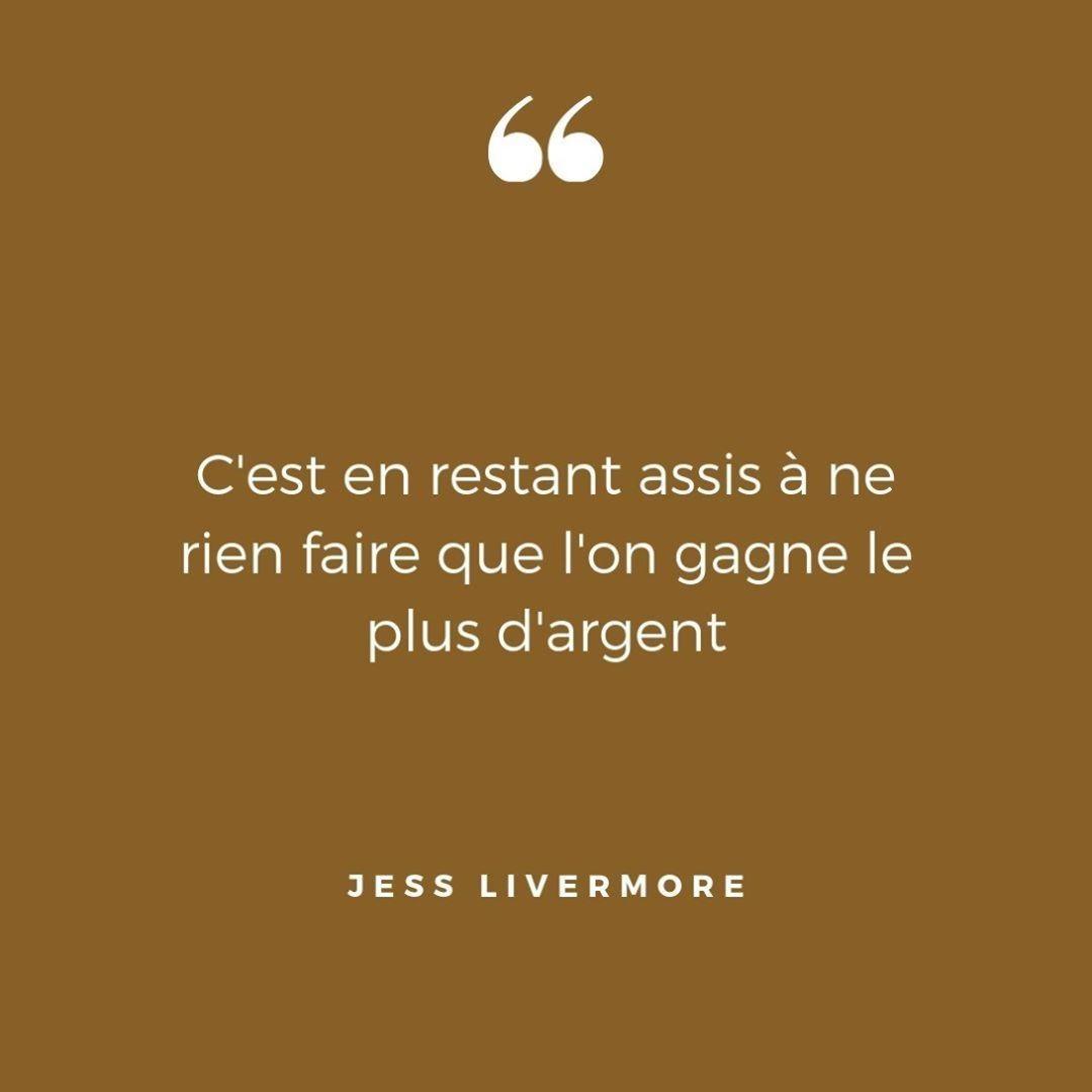 📈 Jess Livermore était l'un des plus grands traders de l'histoire de Wall Street - ------ ➡️ Lien en bio ------ - #trader #grand #histoire #wallstreet #actions #trading #resterassis #nerienfaire #gagner #argent #éducation #libertefinanciere #libertéfinancière #independancefinanciere #independancefinancière #investisseur #investisseurs #investir #investissement #investissements #JessLivermore #citation #citations #citationbourse #citationargent #citationinspirante #citationdusoir #citationdujour