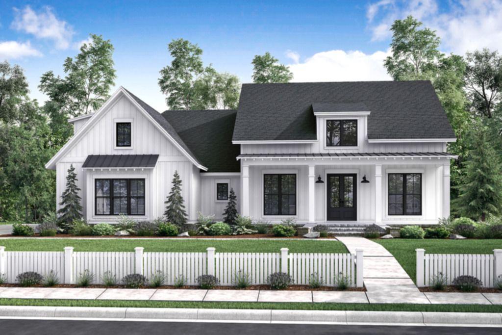 House Farmhouse Style House Plan
