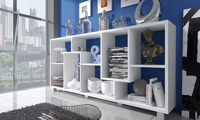 Etagere A Double Position 3 Coloris Au Choix A 99 Livraison Offerte 60 De Reduction Etageres Ouvertes Idees Etageres Rayonnage
