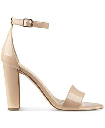 Ivanka Trump Emalyn Block-Heel Sandals | macys.com
