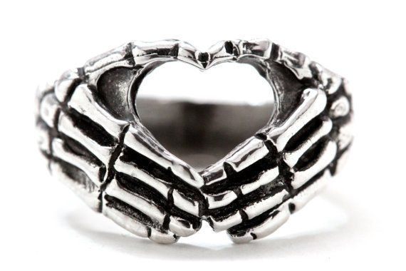 Heart Hands Skeleton Ring – iBESTEST #skulls #skeletonRing #ring #rings #jewelry #jewelrytrends