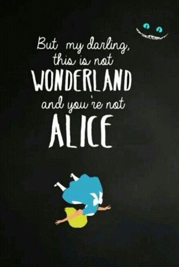 Alice In Wonderland Quote Awesome Pinalison Parsons On Alice In Her Party Dress  Pinterest Review