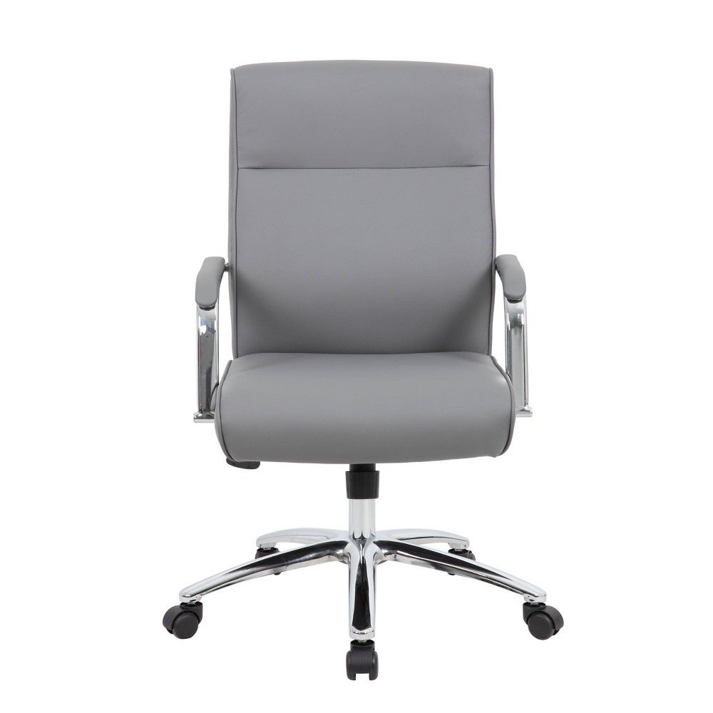 Modern Executive Conference Chair Gray Boss Conference Chairs