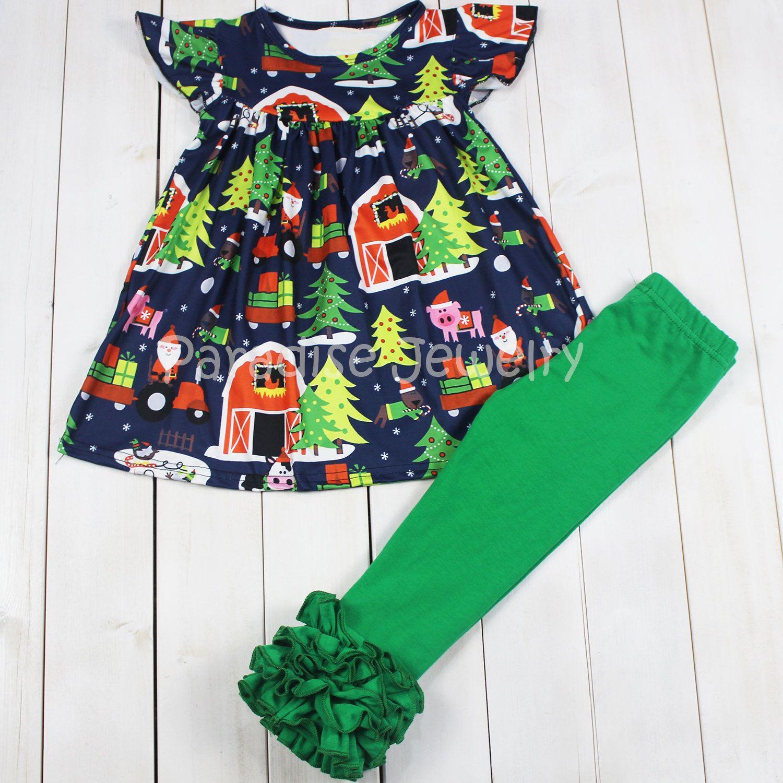 Green dress baby images  PreOrder Winter Baby Little Girls Soft Cotton Dress Barnyard