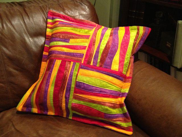 Finished pillow, false flange, bad lighting | I'll try to ge… | Flickr