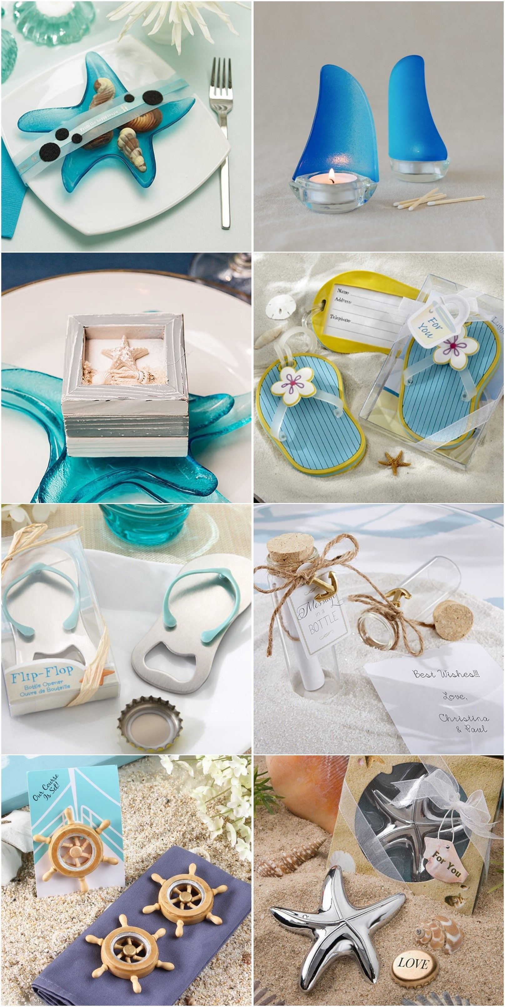 19 Beach Wedding Favor Ideas As Low As $1.1 Each! | Beach weddings ...