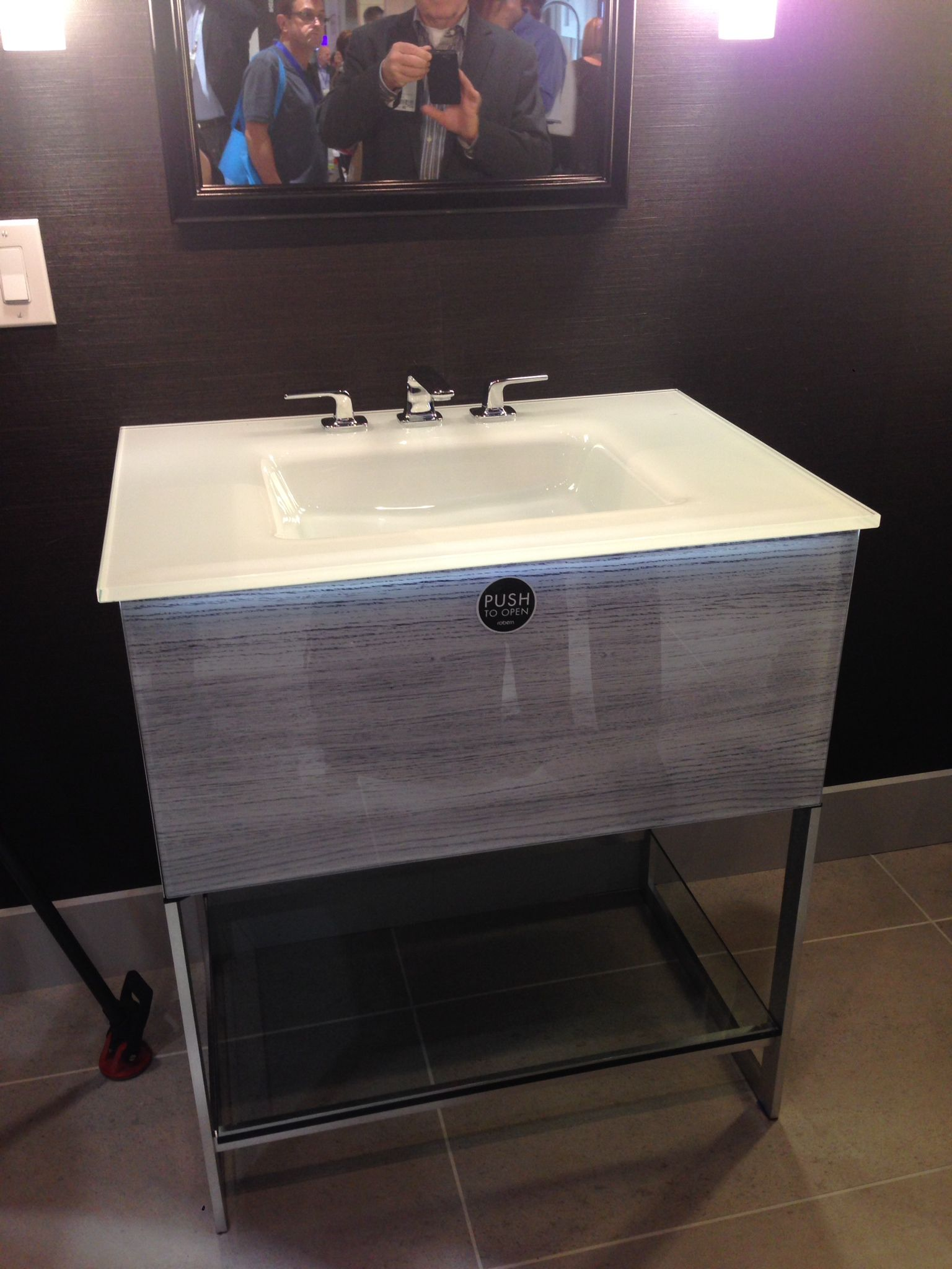 Robern bathroom vanities - Captivating Robern Cabinet For Bathroom Furniture Ideas Cool Robern Adorn Vanity With Silver Faucet And