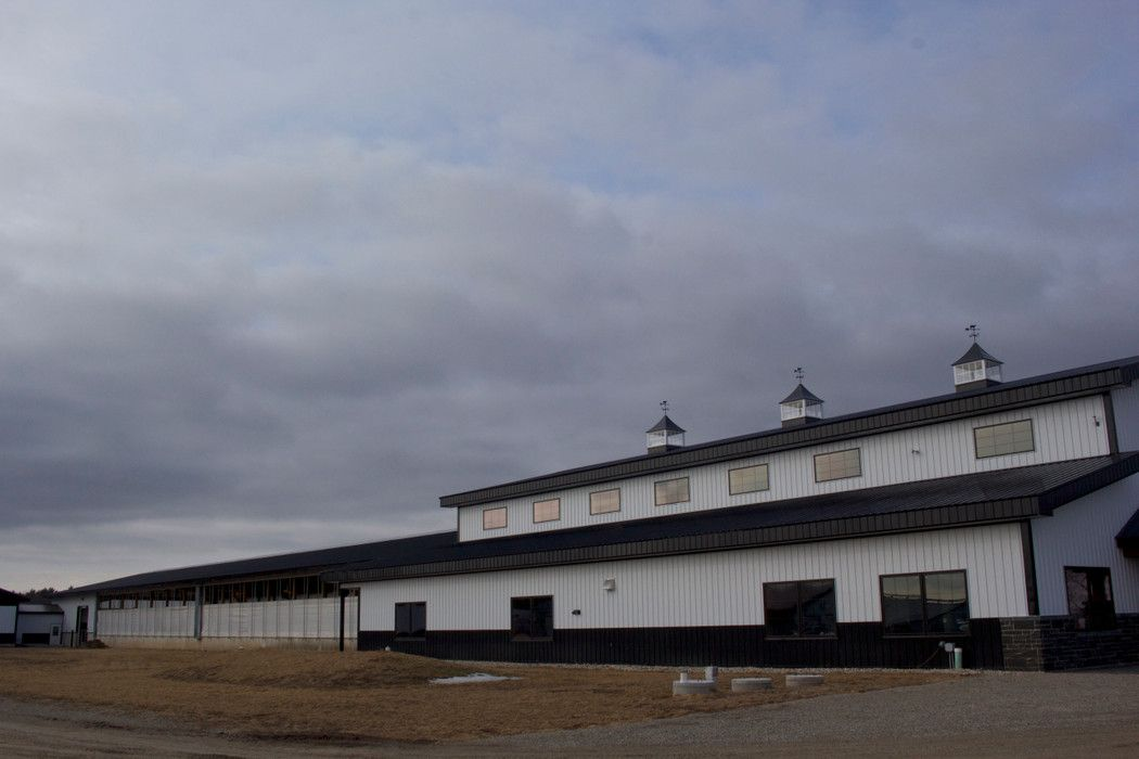Brooks farms farm barn equipment facility