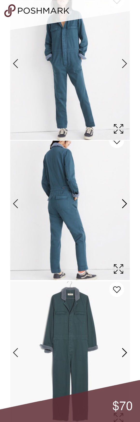 01432b8ebeb6 Madewell Sherpa Coverall Jumpsuit Selling because it s not my style Madewell  Pants