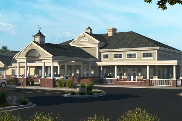 Carriage Cove Short Stay Facility Healthcare Architecture