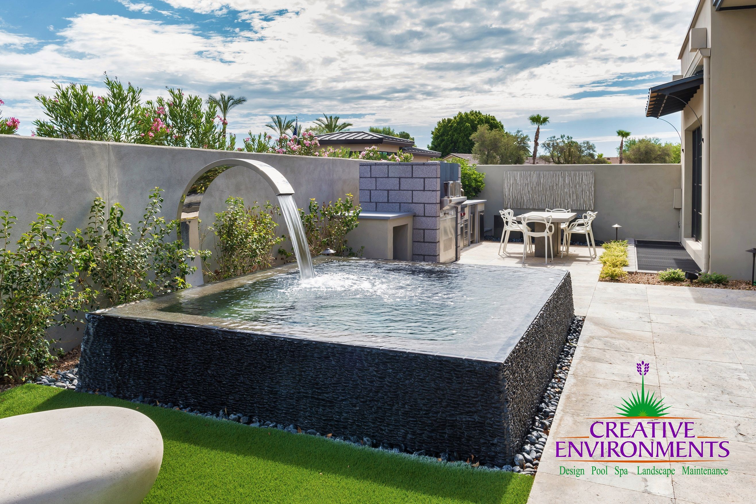 Pin By Creative Environments On Mountain Shadows Commercial Build Pool Designs Indian Home Design Sun Shade