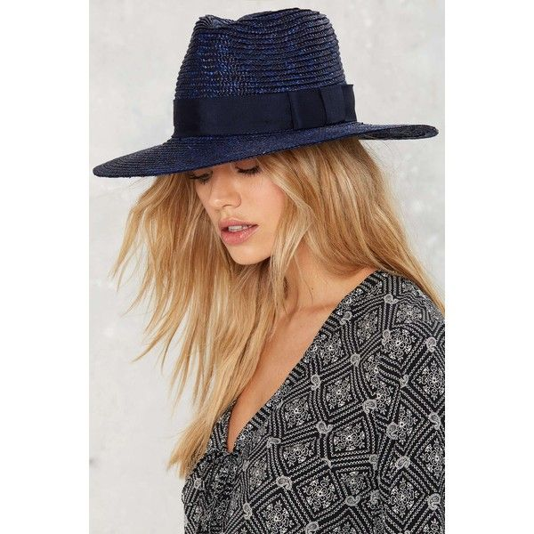 4650b83dedfc0 Brixton Joanna Straw Hat ( 48) ❤ liked on Polyvore featuring accessories