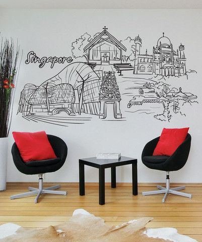 Vinyl Wall Decal Sticker Singapore 1386 Christian Wall Decals