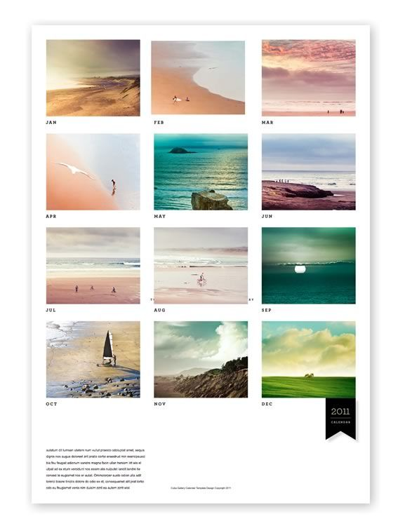 Lightroom Tutorials Free Indesign Photography Calendar Template