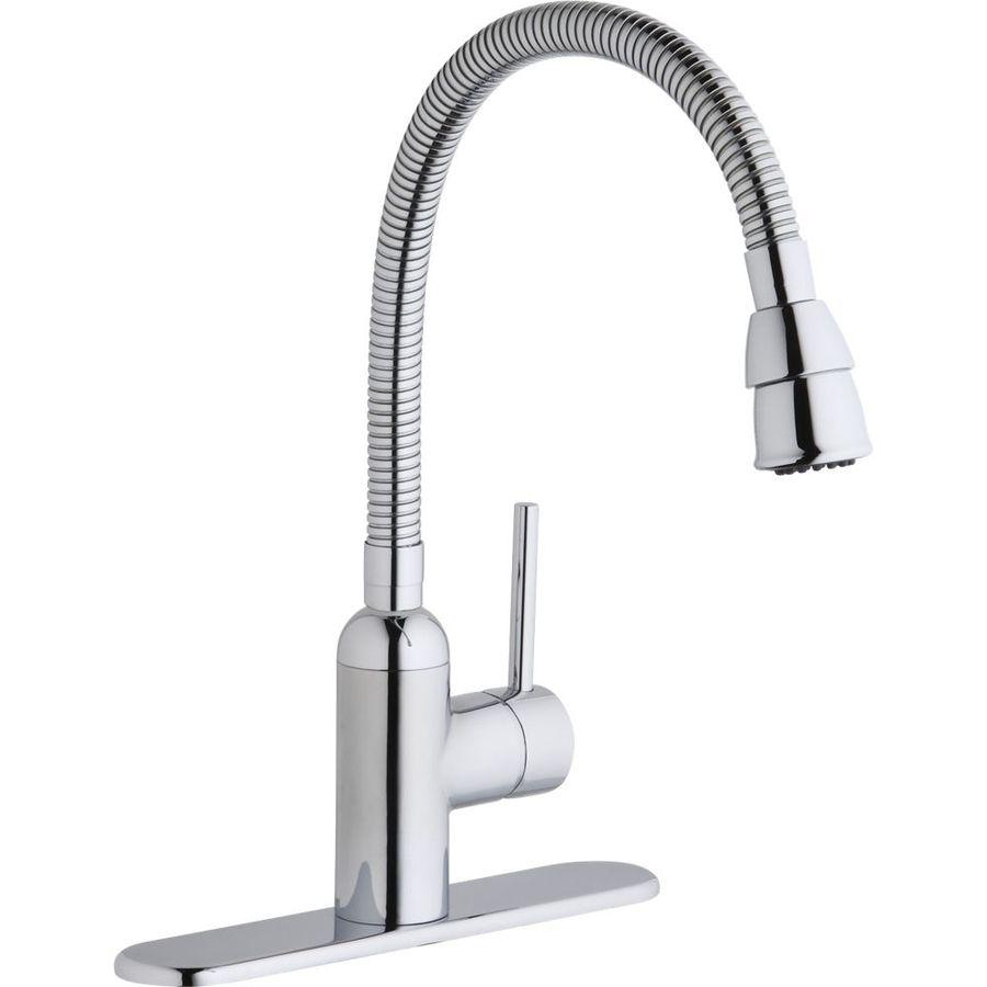 Marvelous Elkay Pursuit Chrome 1 Handle Utility Faucet (basement Wash Tubs)