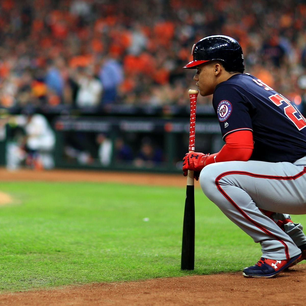 No Moment Is Too Big As He Turns 21 Juan Soto Is Already Writing His Legend In 2020 Washington Nationals Baseball Players Soto