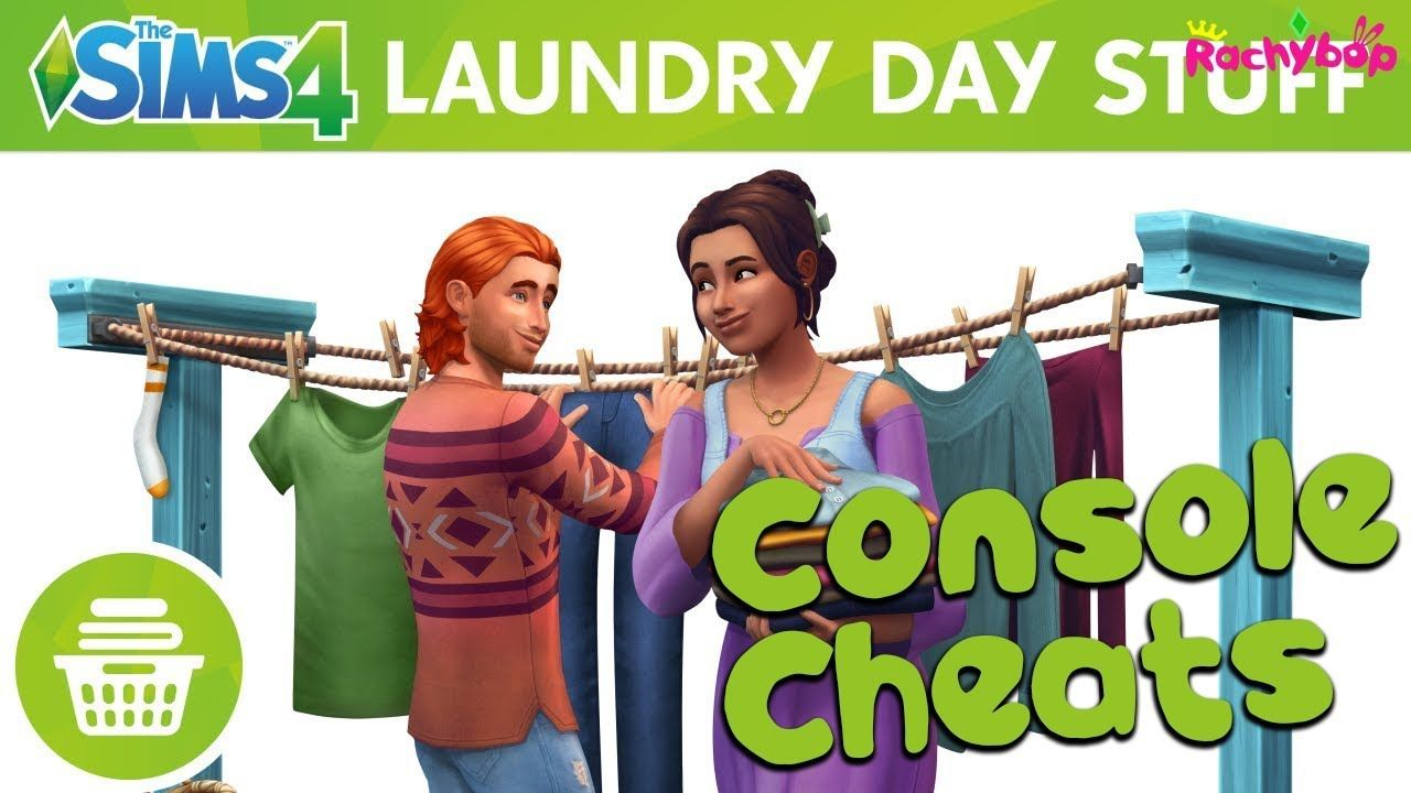 The Sims 4 Laundry Day Stuff Console Cheats Ps4 Xbox In 2020 The Sims 4 Packs Sims 4 Sims