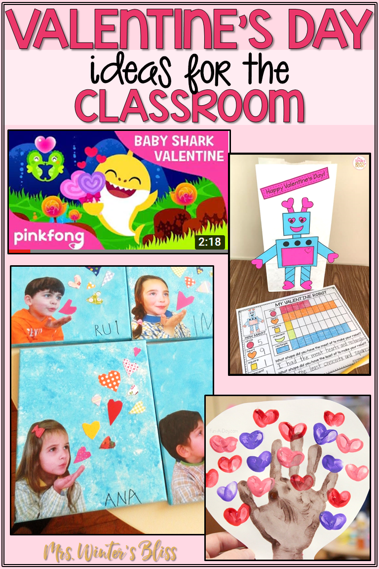 Valentine S Day In The Classroom Classroom Valentine Winter Crafts For Kids Fun Crafts