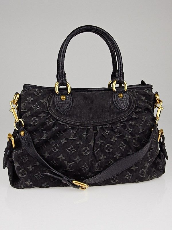 18030f904f97 Louis Vuitton Black Denim Monogram Denim Neo Cabby MM Bag - Handbags -  10040290  1125  18 000 day