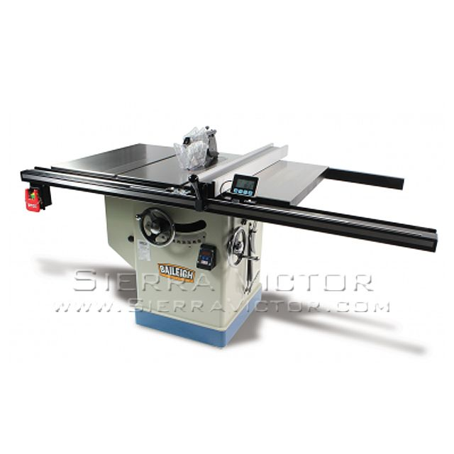 Item 12 Professional Cabinet Table Saw Make Baileigh Model Ts 1248p 36 Call 386 304 3720 Visit Http Sierrav Cabinet Table Saw Table Saws Table Saw