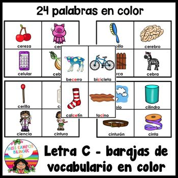 C Suave Silabas ce ci Learning spanish Learning