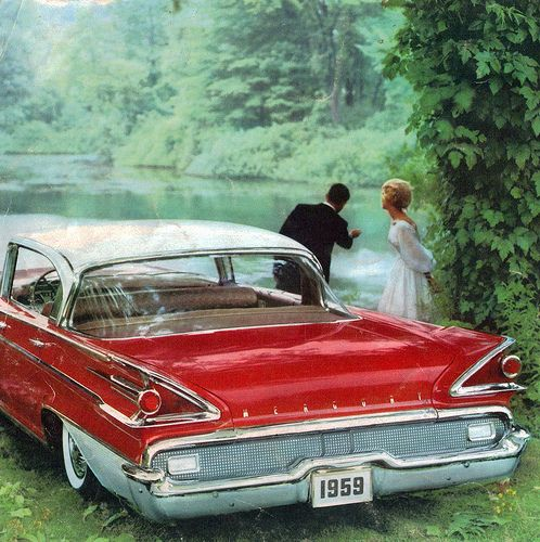 1959 ◘ Mercury Park Lane 4 Door Hardtop by coconv