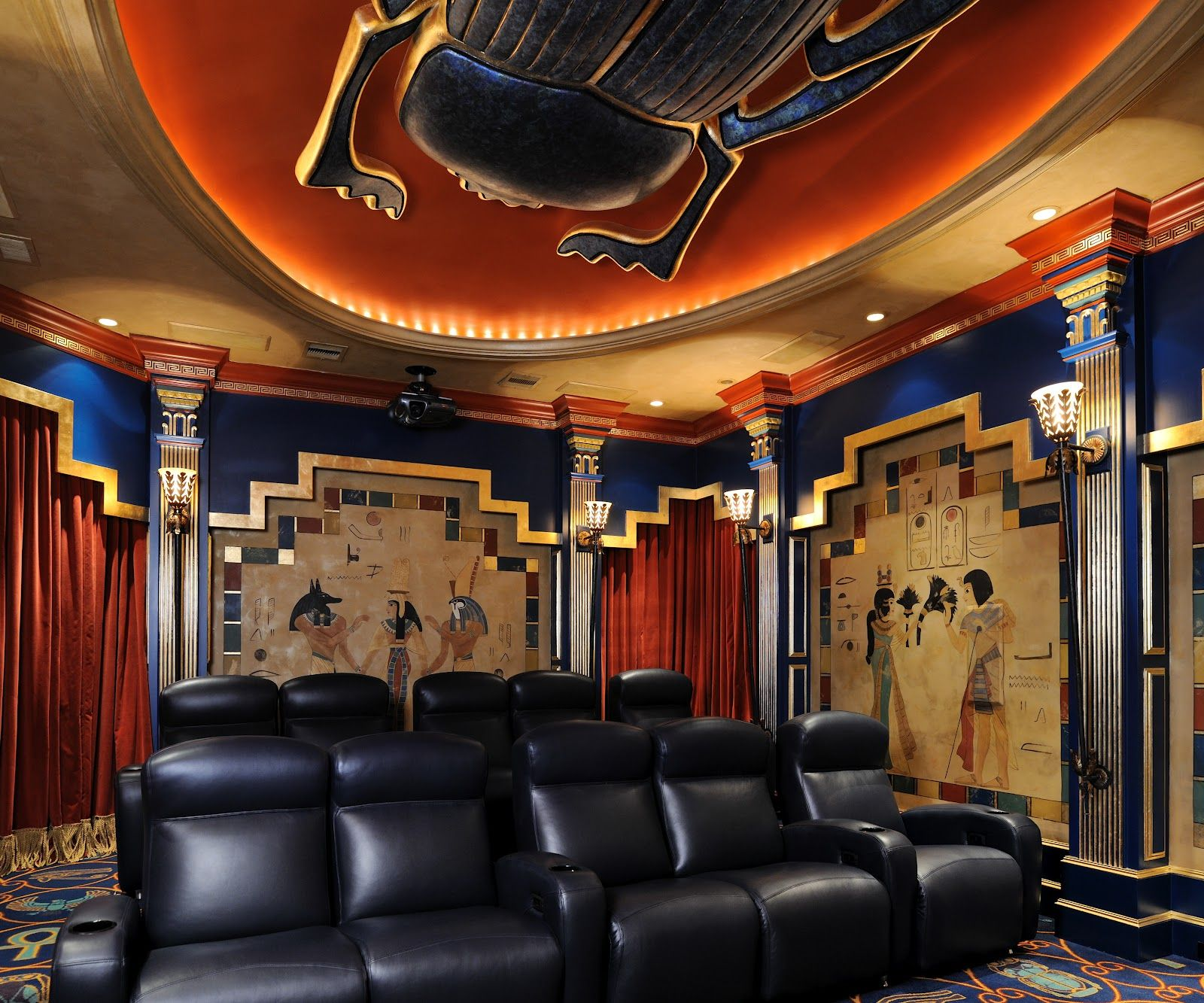 Modern Deco With Egyptian Influence