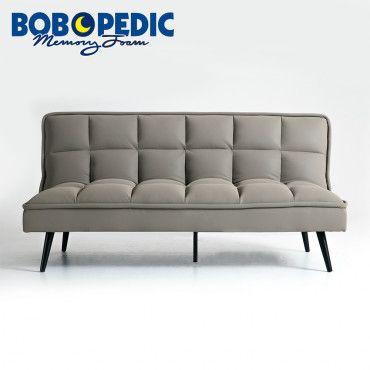 Carly Gray Bob O Matic Futon Grey Furniture Farmhouse Decor
