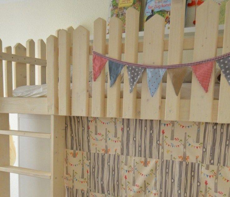 Ein Kinderhochbett selber bauen | bett | Pinterest ... | {Kinderhochbett selber bauen 21}
