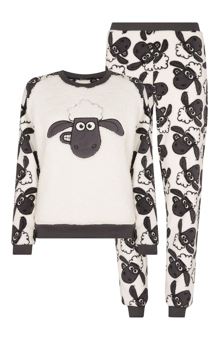 6109017b2a Primark - Conj. pijama polar Ovelha Choné