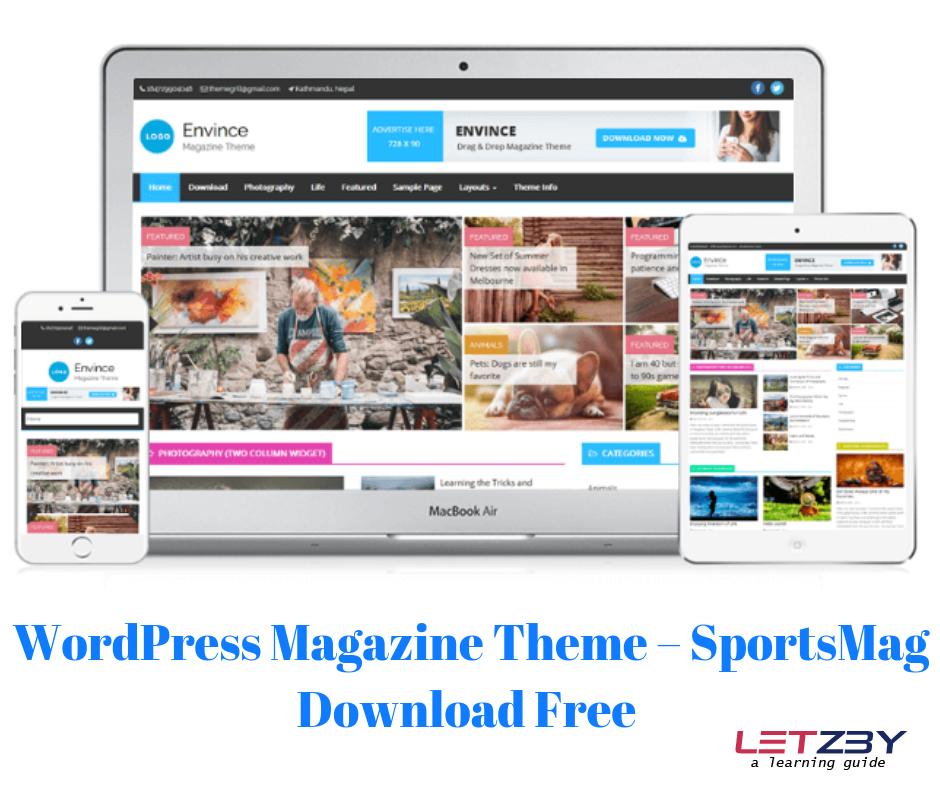Fully Responsive Wordpress Theme Free Download