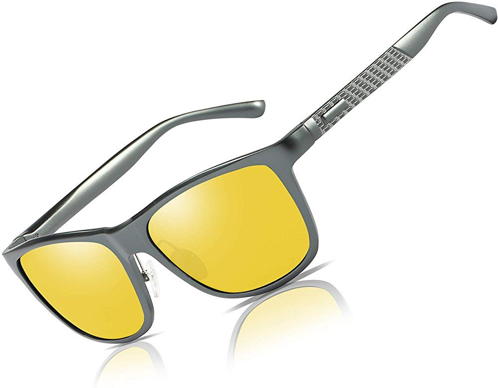 2019 HD Polarized Sunglasses Men's Driving Pilot Glasses