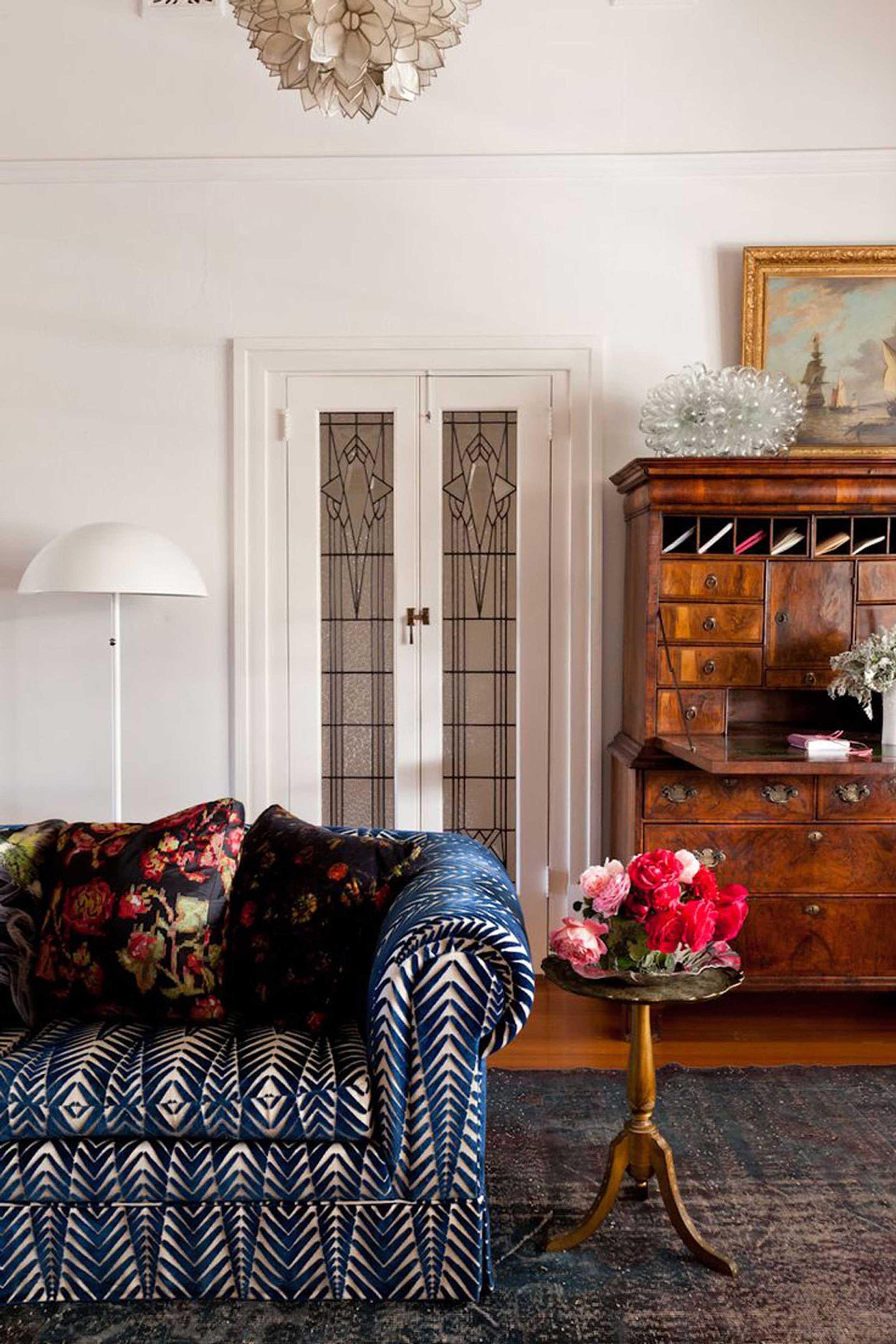 Secretary Desk Inspiration   Emily Henderson #homedesign #officeinspo #interiors