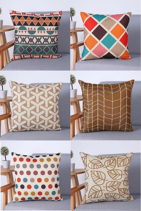 Geometric Throw Pillow Covers Geometric Throw Pillows Geometric Throws Throw Pillows
