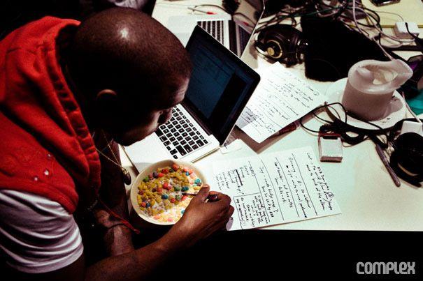Kanye West Recording Studio Kanye Kanye West Beautiful Dark Twisted Fantasy