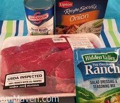 Crockpot Ranch Pork Chops Recipe Roast Beef Recipes