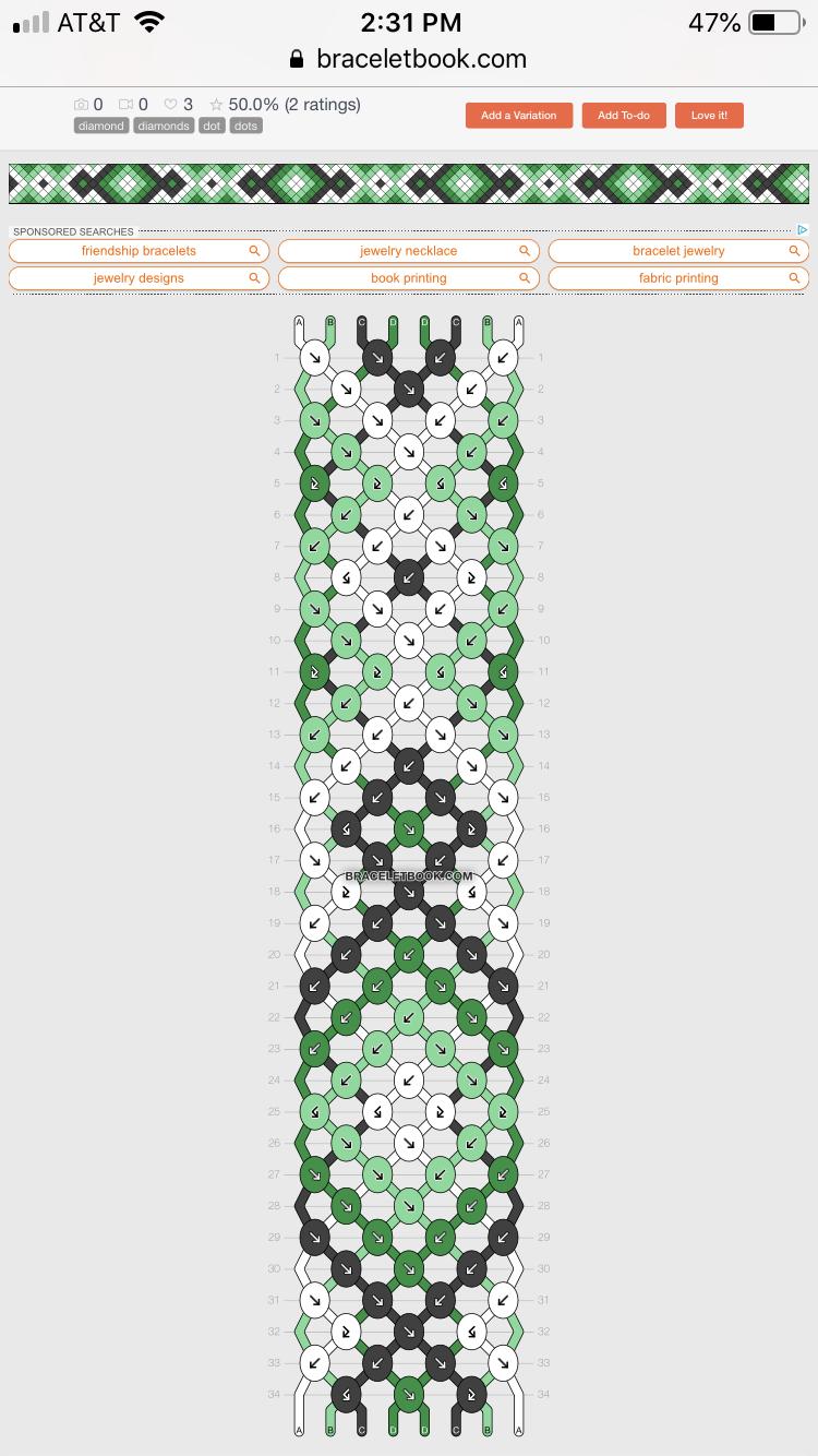 Patterns | BraceletBook.com